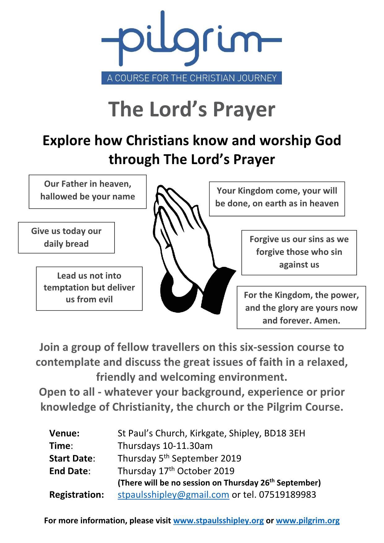 Courses & Training - St Paul's Parish Church, Shipley